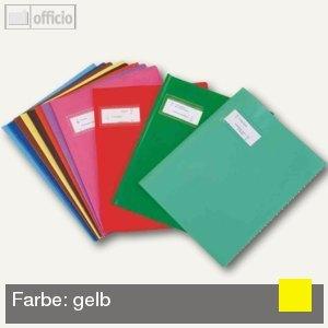 "Heftschoner ""Styl'SMS"", 170x220mm, PVC, gelb, 25 St"