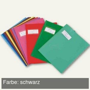 "Heftschoner ""Styl'SMS"", 170x220mm, PVC, schwarz, 25 St"