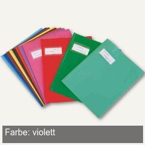 """Heftschoner """"Styl'SMS"""", 170x220mm, PVC, violett, 25 St"""