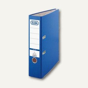 Ordner smart colour-Papier, 2-Ring-Mechanik, 80 mm, blau, 100202215