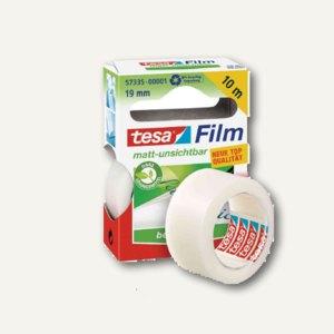 Tesa Film, matt unsichtbar, beschriftbar, ablösbar, 19mm x 10m, 57335-00001-00