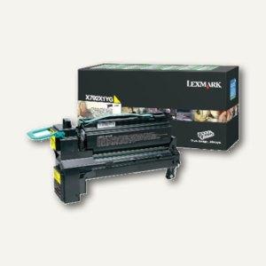 Lexmark Rückgabe-Lasertoner für X792, ca. 20.000 Seiten, gelb, X792X1YG