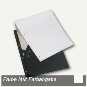 Schreibblockhalter DIN A4, natur-transparent, 26540086