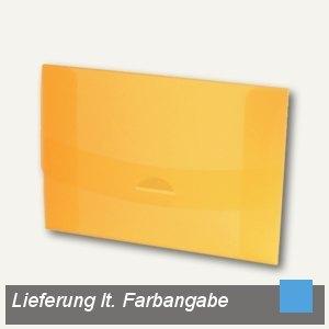 Sammelmappe 05, DIN A4, blau-transparent, 27405810
