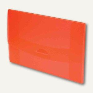 Sammelmappe 10, DIN A4, rot-transparent, 27410820