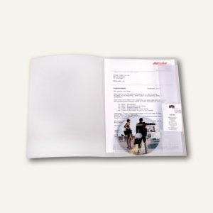 Angebotsmappe mit CD-& Prospekthalter