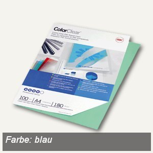 Einbanddeckel ColorClear