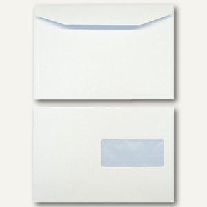Kuvertierhüllen DIN C5 162 x 229 mm 90g/qm Fenster offset