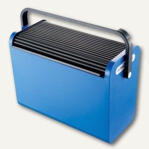 Helit Hängeregistratur-Box Mobilbox, blau, für 25 Register/2 A4-Ordner, H6110193