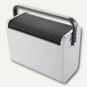 Helit Hängeregistratur-Box Mobilbox, grau, für 25 Register/2 A4-Ordner, H6110198