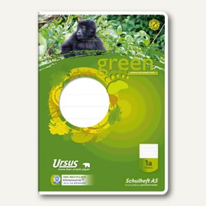 Green Schulheft