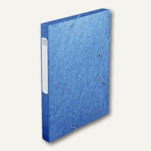 Dokumentenbox CARTOBOX, DIN A4, 40 mm, blau, 14005H
