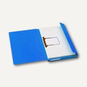 Kombimappe Secolor/ DIN A4 blau Karton 270 g/qm