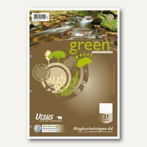 Green Ringbucheinlagen