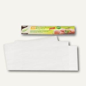 Papstar Butterbrotpapier, 25 x 30 cm, weiß, 3.000 Blatt, 14300