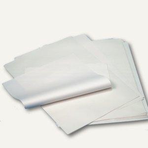 Einschlagpapiere, 1/4 Bögen, 50 cm x 37.5 cm, Cellulose, weiß, ca. 850 Blatt