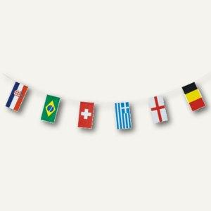Flaggenkette 32 Nations