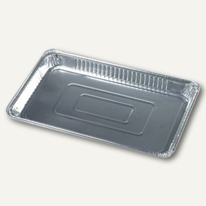 Gastronorm-Behälter, Alu, 52,7 x 32,6 x 3,7 cm, 5.2 l, Gastro-Norm 1/1, 30 St.