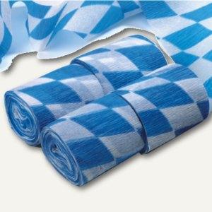 Krepp-Bänder Bayrisch Blau