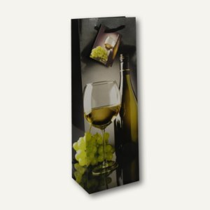 Papstar Flaschen-Lacktragetasche