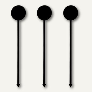 Longdrink-Sticks Münze