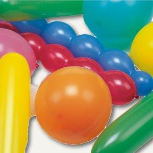 Luftballons verschiedene Formen