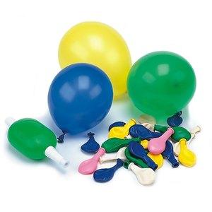 Luftballons mit Pumpe