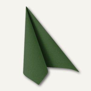 """Servietten """"ROYAL Collection"""", 1/4-Falz, 40 x 40 cm, dunkelgrün, 160 St., 16907"""