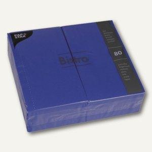 Papstar Servietten, 2-lagig, 1/6-Falz, 40x32cm, dunkelblau, 560er-Pack, 11017