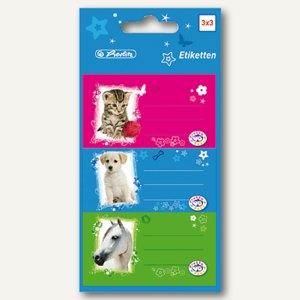 Buchetiketten Pretty Pets