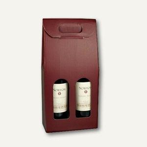 Wein-Tragekartons mit Sichtfenster