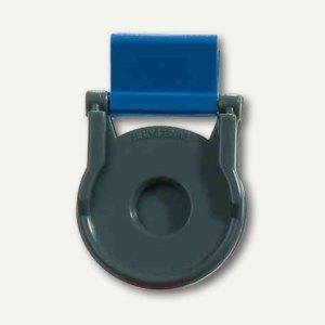 Kunststoff-Foldback-Klammer BRUTUS, 19 mm, blau, 100er Pack, 0710-30