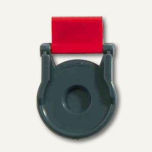 Kunststoff-Foldback-Klammer BRUTUS, 19 mm, rot, 12 St