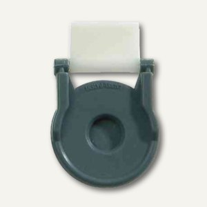 Kunststoff-Foldback-Klammer BRUTUS, 19 mm, wei
