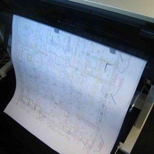 """Canson Plotterpapier """"PaperJet CAD"""", 91.4 cm x 50 m, 90 g/qm˛, weiß, 62490"""