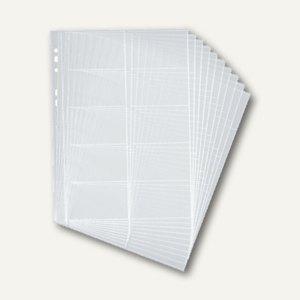 Durable Visifix Hüllen für DIN A4, Universallochung, 2389-19