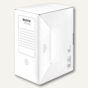 Archiv-Schachtel Infinity, säurefrei, DINA4+, (B)150mm, weiß, 20St., 6092-00-00