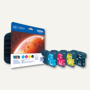 Tintenpatronen LC-1100HY Multipack