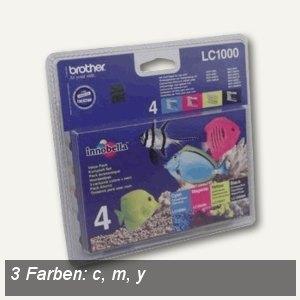 Tintenpatronen LC1000 Multipack