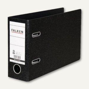 Falken Ordner, DIN A5 quer, Rücken 75 mm, schwarz, 11285905