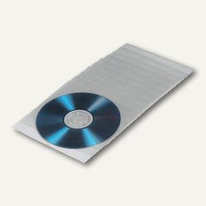 Hama CD/DVD Taschen, 13.5x2x18.5 cm, transparent, 100 Stück, 51095 ...