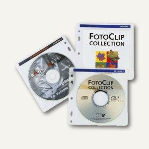 Hama CD/DVD-Hülle, farblich sortiert, 40 Stück, 48444