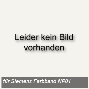 Farbband schwarz Nylon NP01 Nixdorf Proprint 100/200
