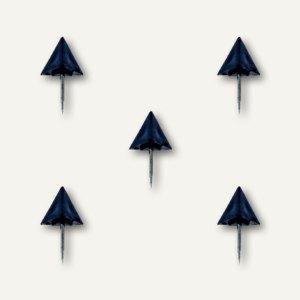 Alco Markiernadeln Pyramide, Kopf: 12.5mm, Nadel: 7.5mm, schwarz, 20 St.,1762-11
