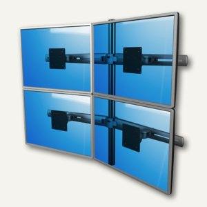 Viewmaster Monitorarm, für 4 Monitore bis 880 mm breit, 2x oben 2x unten, 53.313