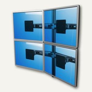 Viewmaster Monitorarm, für 4 Monitore bis 555 mm breit, 2x oben 2x unten, 53.323