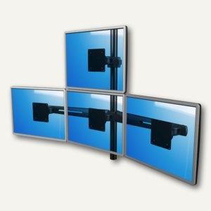 Viewmaster Monitorarm, für 4 Monitore bis 440 mm breit, 1x oben 3x unten, 53.343