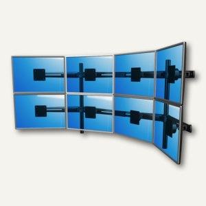 Viewmaster Monitorarm, für 8 Monitore bis 610 mm breit, 4x oben 4x unten, 53.843