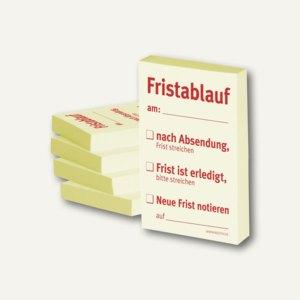 Haftnotizen bedruckt: Fristablauf am:......