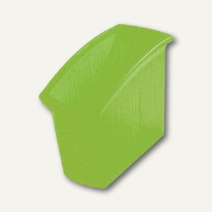 HAN Papierkorb Mondo 18l, transluzent-grün, 1840-60